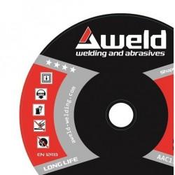 AWELD řezný kotouč ocel 180...